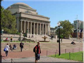 Mitch at Columbia
