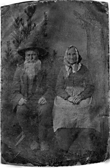 Albert and Nancy Lawson TinType