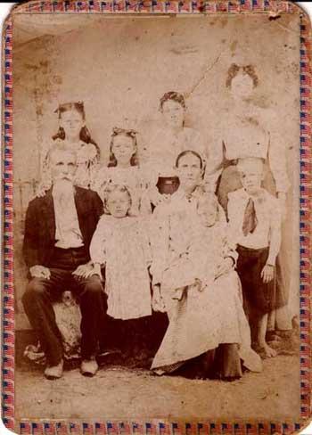 Columbus & Sarah Johnson's Family