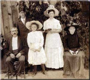 John W. and Martha J. McDonald's Family